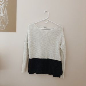Madewell Colorblock Sweater • Size S
